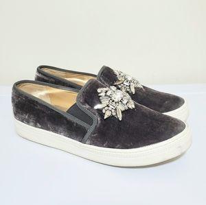 •BADGLEY MISCHKA• Velvet Jewel Sneaker